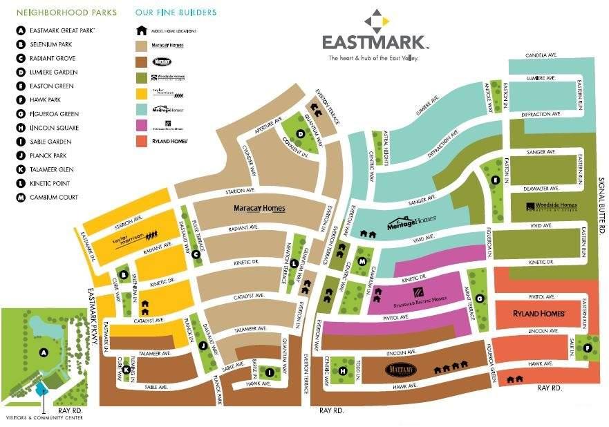 EASTMARK MAP