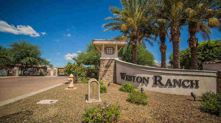 WESTON RANCH ENTRANCE